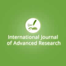 International Journal of Advanced Research